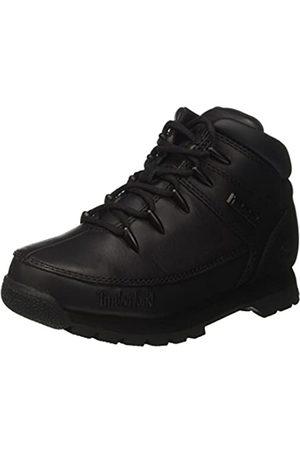 Timberland Unisex Kinder Euro Sprint Chukka Boots, (Black Smooth)