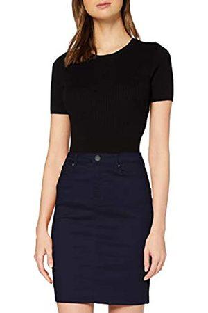 Vero Moda Damen VMHOT Sophia HR Pencil Slit Skirt Color Rock