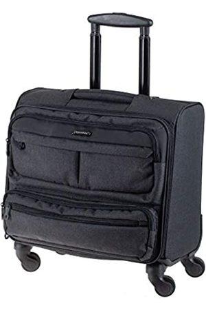 LIGHTPAK 46144 - Business Laptop Overnight Trolley Ronney, Rollkoffer aus 600D Nylon, Reisekoffer mit 4 Rollen 360°, Koffer