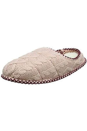 Dearfoams Damen Qilted Cable Knit Clog Pantoffeln, Pink (Dusty Pink 10663)