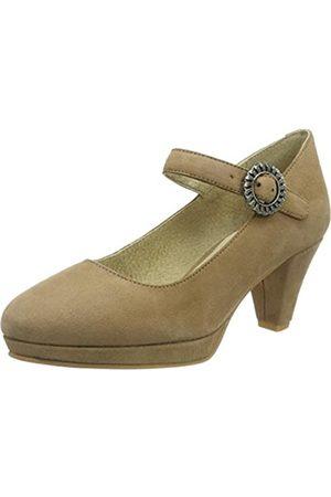 Stockerpoint Damen Schuh 6006 RiemchenPumps, (Sand)