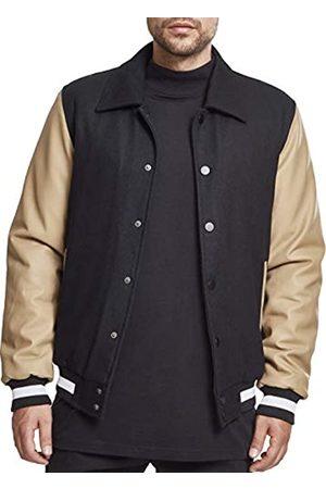 Urban classics Herren Collar College Jacket Sweatjacke