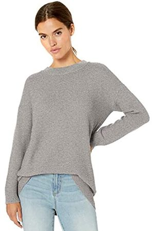 Daily Ritual Wool Blend Baksetweave Crewneck Sweater pullover-sweaters
