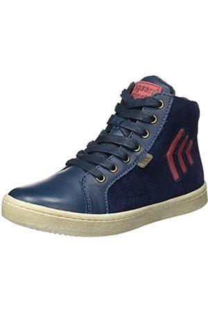 Bisgaard Unisex-Kinder Schnürschuhe Hohe Sneaker, (625 Blue)