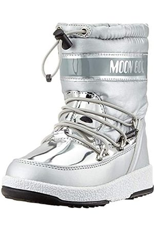 Moon Boot Moon-boot Mädchen Jr Girl Soft Wp Schneestiefel, (Argento 003)