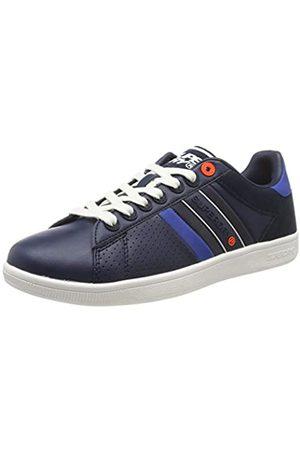 Superdry Herren Sleek Tennis Trainer Sneaker, (Dark Navy 24s)