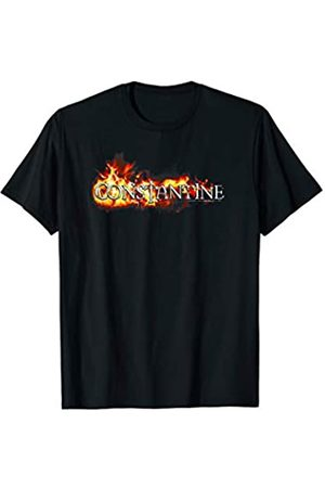 DC Constantine Logo in Flames T-Shirt