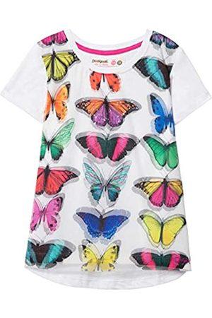 Desigual Mädchen Girl Knit Short Sleeve (TS_Halifax) T-Shirt