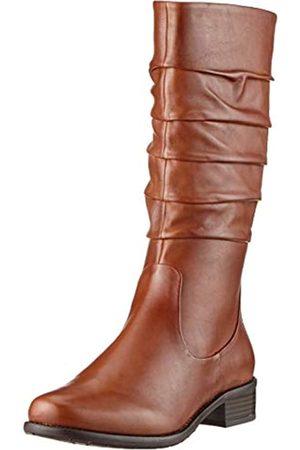 Gerry Weber Damen Calla 16 Hohe Stiefel, (Cognac Mi24 370)