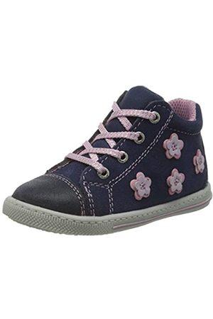 Lurchi Baby Mädchen BEBA Sneaker, (Navy 22)
