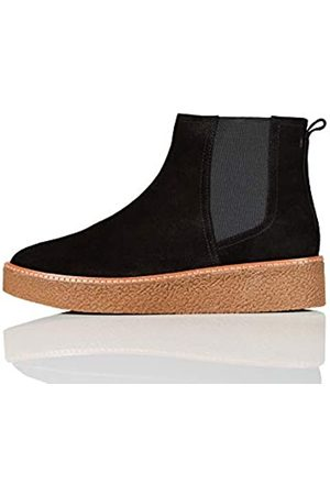 FIND Gumsole Chelsea Boots, Black)