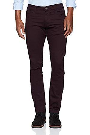 Enzo Herren Skinny Skinny Jeans Kruze Maxi, (Burgundy Burgundy)