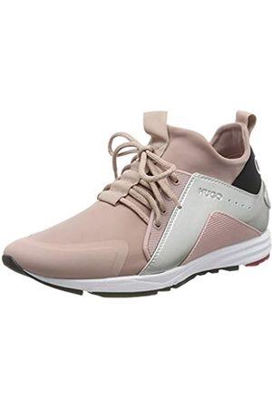 HUGO BOSS Hybrid_Runn_Lam, Damen Sneaker, Pink (Light Pastel Pink 681)