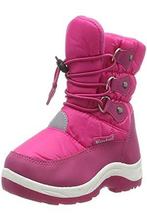 Playshoes Unisex-Kinder Winter-Bootie zum Schnüren Schneestiefel, Pink (Pink 18)