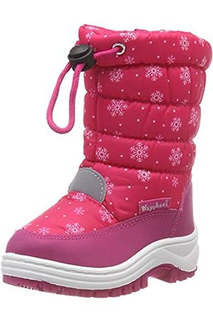 Playshoes Snow Boots Snowflakes Unisex-Kinder Schneestiefel, Pink (Pink 18)