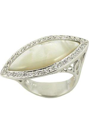 TOUS Damen Ring, Sterling-Silber 925, Zirkonoxid, 54 (17.2)