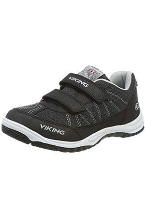 Viking Unisex-Erwachsene BRYNE Sneaker, (Black/Grey 203)