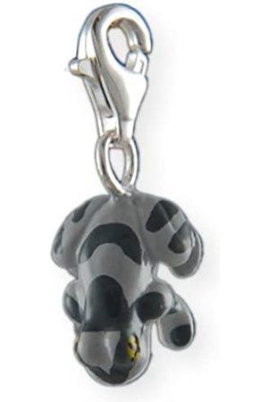 Melina Damen-Charm Anhänger Frosch Emaile 925 Sterling Silber 1800690