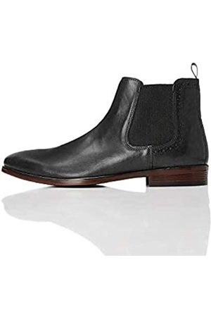 FIND Marin Chelsea Boots, (Smart Black)