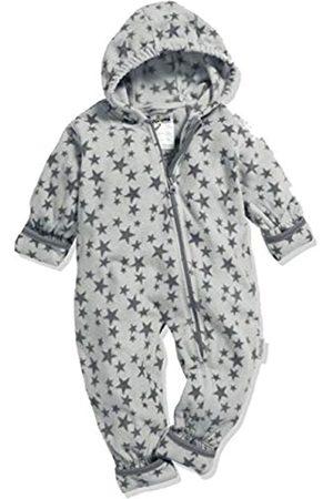 Playshoes Baby-Unisex Fleece-Overall Sterne Schneeanzug