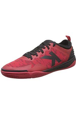 kelme Herren Triton Futsalschuhe, (Rojo Y Negro 145)