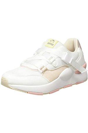 MTNG Damen 69635 Sneaker, (MESH YT 0692 Blanco/MAPY Blanco/Soft /YODA Taupe C49108)