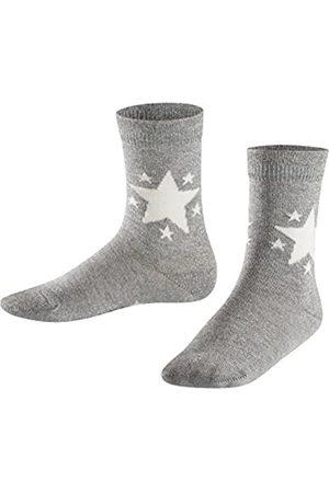 Falke Kinder Socken Glitter Star, Baumwollmischung, 1 Paar