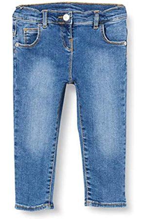 chicco Baby-Mädchen Pantaloni Lunghi Denim Stretch Bimba Jeans, (Blu 085)