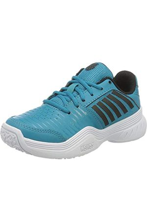 K-Swiss Unisex-Kinder KS TFW Court Express Omni Blck/WHT-M Tennisschuhe, Algiers Blue/Black/White
