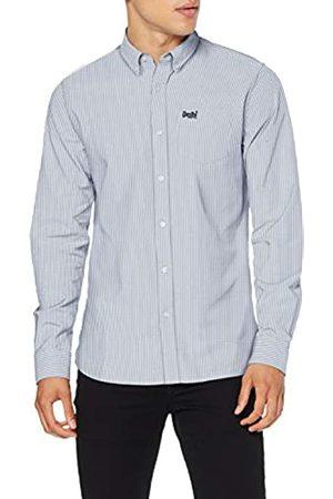 Superdry Herren Classic University L/S Shirt Freizeithemd