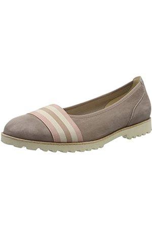 Gabor Shoes Damen Jollys Geschlossene Ballerinas, Mehrfarbig (Dark-Nude Kombi 14)