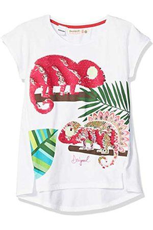 Desigual Mädchen Girl Knit Short Sleeve (TS_Ontario) T-Shirt