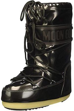 Moon Boot Unisex-Kinder Vinil Met Schneestiefel, (Nero 001)