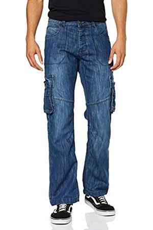 Enzo Herren Ez404 Loose Fit Jeans