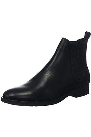 Bertie Herren Cage Chelsea Boots, (Black Leather Black Leather)