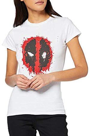 Marvel Damen Deadpool Splat Face