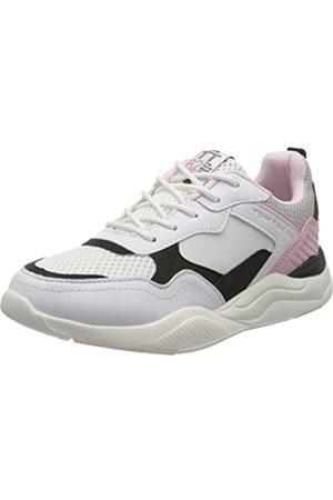 TOM TAILOR Mädchen 8070702 Sneaker, Mehrfarbig (White-Black-Rose 02693)
