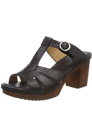 Ten Points Damen Amelia Offene Sandalen, (Black)