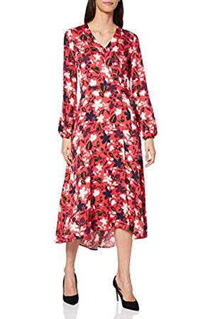Marc O' Polo Damen 001098521191 Kleid, (Multi/Bright Berry B02)