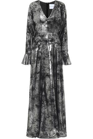 HALPERN Robe aus Georgette