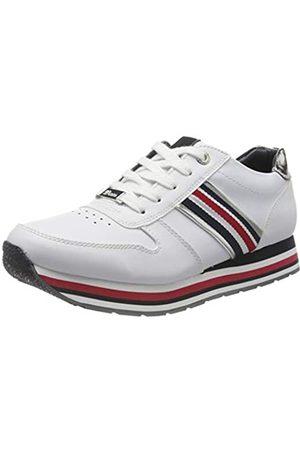 TOM TAILOR Damen 8095501 Sneaker, (White 00002)