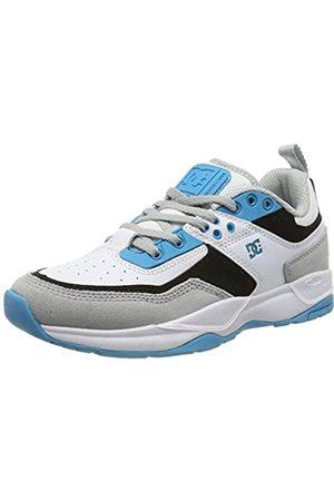 DC Jungen E.tribeka - Shoes for Boys Skateboardschuhe, Grey/Blue/White
