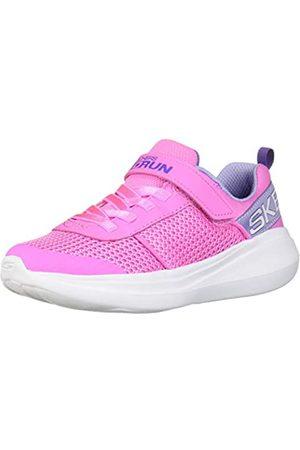 Skechers Mädchen GO Run Fast Viva Valor Sneaker, Pink (Pink Mesh/Lavender Trim PKLV)