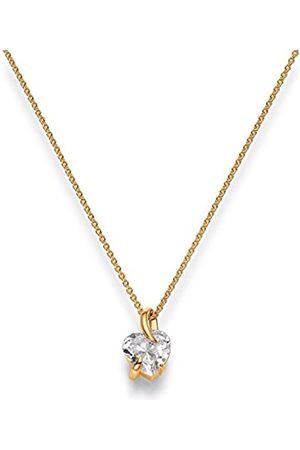 Viventy Damen-Anhänger Silber vergoldet rhodiniert Zirkonia weiß - 772102