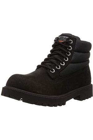 Skechers Herren Sergeants-Verno Klassische Stiefel, (Black Leather BBK)