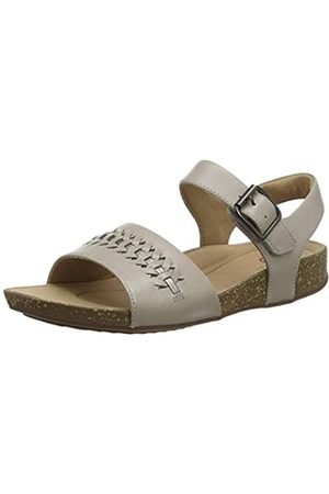 Clarks Damen Un Perri Way Slingback Sandalen, (Stone Leather Stone Leather)