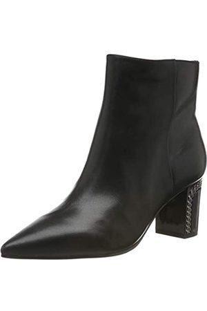 Guess Damen Blondie/Stivaletto (Bootie)/le Kurzschaft Stiefel, (Black Black)