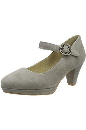 Stockerpoint Damen Schuh 6006 Riemchenpumps, (Taupe)