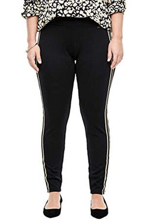 s.Oliver Regular Fit: Slim ankle leg-Jerseyhose black 44