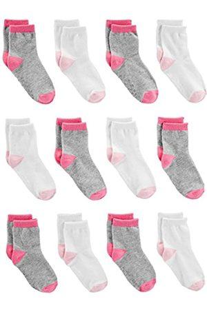 Simple Joys by Carter's Baby und Kleinkind Mädchen Socken 12er Pack Crew